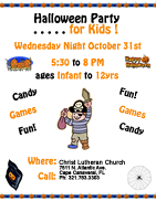 Fall Festival - Halloween Party Flyer link
