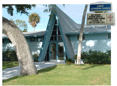 Christ Lutheran Church Cape Canaveral - former color