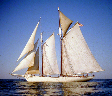 Pastor Greg's Maiden voyage, first tall ship sailing