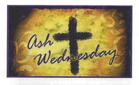 March 05 2014 Ash Wednesday Church Bulletin Cover Image