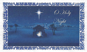 12-24-14-The Star of Bethlehem Shining over the Manger with Baby Jesus