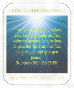 How To Look at the Next Year as a Christian - New Years Eve - Sermon ...