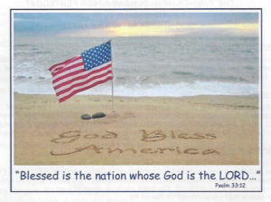 flag-in-beach-sand-w-psalm-scripture-written