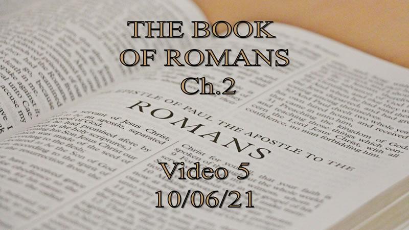 10-06-21-Romans-Ch-2